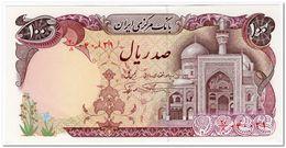 IRAN,100 RIALS,1982,P.135,UNC - Irán