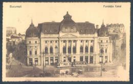 Romania BUCURESTI Fundatia Carol - Rumänien