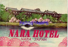 134887 JAPAN NARA PUBLICITY NARA HOTEL LUGGAGE NO POSTAL POSTCARD - Adesivi Di Alberghi