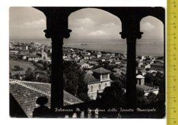1959 FALCONARA M. Panorama Dalla Torre Municipale FG/V SEE 2 SCANS - Altre Città