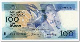 PORTUGAL,100 ESCUDOS,1988P.179f,UNC - Portugal