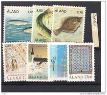 1990 MNH Aland  Year Complete, Postfris - Aland