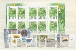 1999 MNH Aland  Year Complete, Postfris - Aland
