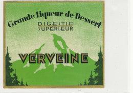 AN 906 / ETIQUETTE -    VERVEINE GRANDE LIQUEUR DE DESSERT - Andere