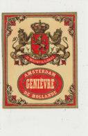 AN 916 / ETIQUETTE -   GENIEVRE AMSTERDAM    DE HOLLANDE - Andere