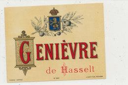 AN 917 / ETIQUETTE -   GENIEVRE  DE HASSELT - Andere