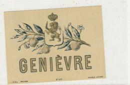 AN 926 / ETIQUETTE -   GENIEVRE - Andere
