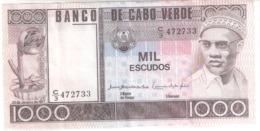 Cabo Verde 1000 Escudos 1977 - Cap Verde