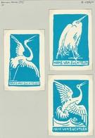 Ooievaar - Stork - Storch - Cicogne - Bookplates