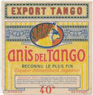 AN 939 / ETIQUETTE -  ANIS DEL TANGO  EXPORT TANGO - Andere