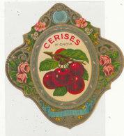 AN 950  / ETIQUETTE -   CERISES 1ER CHOIX - Fruits & Vegetables