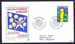 Greenland 2000.  Europa - CEPT;  FDC (Populær Filateli). - 2000