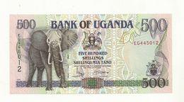 BILLET  NEUF  OUGANDA  500 SCHILLINGS ANNEE 1996   SUPERBE CRAQUANT. - Uganda