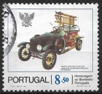 Portugal – 1981 Firemen 8.50 Used Stamp - 1910-... République