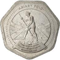 Monnaie, Madagascar, 10 Ariary, 1992, Royal Canadian Mint, TTB, Stainless Steel - Madagascar