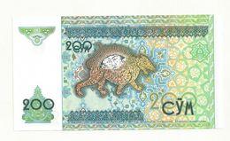 BILLET  NEUF  OUZBEKISTAN 200 CYM   ANNEE 1997 NEUF  SUPERBE - Uzbekistan