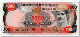NICARAGUA,5000 CORDOBAS1987,P.146,UNC - Nicaragua