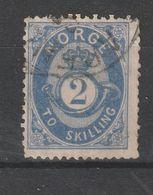 Norwegen / 1872 / Mi. 17 Gestempelt (BM32) - Usados