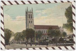 3AE365 KINGSTON CHURCH PORTSMOUTH  2 SCANS - Portsmouth