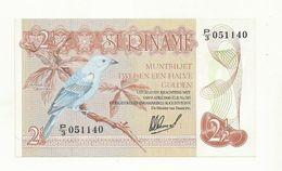 BILLET  NEUF  SURINAM  ANNEE 1978   NEUF  SUPERBE. - Surinam