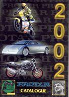 Catalogue PROTAR Provini Tarquinio 2002  Moto 1:9 & 1:6 Auto 1:12 & 1:24 - En Italien - Cataloghi