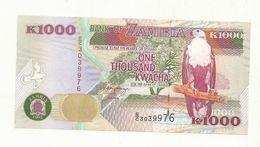 BILLET  NEUF  ZAMBIE  1000 KWACHA   ANNEE  1992    NEUF  SUPERBE. - Zambia