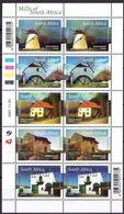 South Africa 2007 - Mills Of South Africa, Sheet - Michel 1763-67 -  MNH, NEUF, Postfrisch - Afrique Du Sud (1961-...)