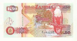 BILLET  NEUF  ZAMBIE  50 KWACHA   ANNEE  1992    NEUF  SUPERBE. - Zambia