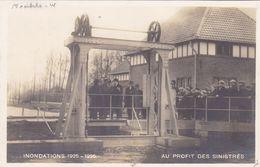 Moerbeke Waas, Fotokaart, Inondations 1925-1926, Au Profit Des Sinistrés (pk69676) - Moerbeke-Waas