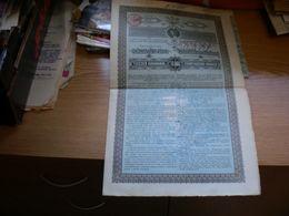 A Temes Begavolgyi Vizszabalyzo TarsulaTNAK KOLCSONE RESZKOTVENY Tizezer Koronarol Temesvar 1897 - Hungary