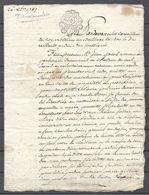 PROMO   Bel Acte Notarié Du 26 Octobre 1787  Bar Le Duc Meuse 4 Pages En Très Bon état - Manuskripte
