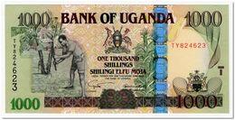 UGANDA,1000 SHILLINGS,2005,P.43,UNC - Uganda