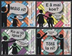 Tokelau 2014 - Mi-Nr. 453-456 ** - MNH - Tokelauische Sprache - Tokelau