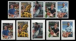 Australien 2007 - Mi-Nr. 2862-2866 & 2867-2871 ** - MNH - Markt - Mint Stamps