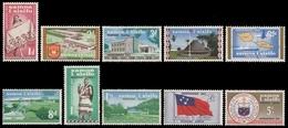 Samoa 1962 - Mi-Nr. 112-121 ** - MNH - Unabhängigkeit - Samoa
