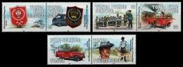 Tonga 1993 - Mi-Nr. 1280-1285 ** - MNH - Feuerwehr / Fire Service - Tonga (1970-...)