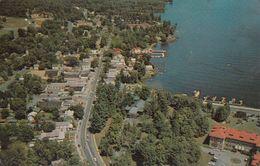Lake George Village New York - Down The Road To The Beach - Unused - 2 Scans - Lake George