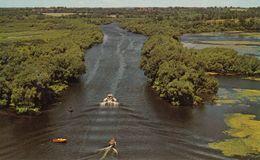 Near Peterborough Ontario - Boat On Otonabee River - Rice Lake - Unused - 2 Scans - Peterborough
