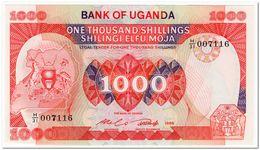UGANDA,1000 SHILLINGS,1986,P.26,UNC - Oeganda