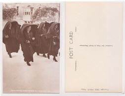 Malta - Maltese Women Wearing Silk Faldettas , Nm. 151 - Malte