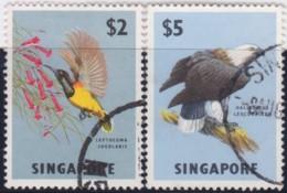 Straits Settlements   .    SG   .   76/77      .    O      .   Cancelled    .   /   .  Gebruikt - Singapur (1959-...)