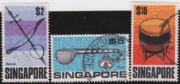 Straits Settlements   .    SG   .   113/115      .    O      .   Cancelled    .   /   .  Gebruikt - Singapur (1959-...)