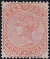 Bermuda    .    SG   .   28a      .     (*)     .    No Gum    .   /   .   Geen Gom - Bermudes