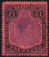 Bermuda    .    SG   .     121  (2 Scans)      .     O   .   Cancelled .   /   .   Gebruikt - Bermudes