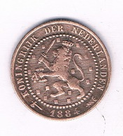 1 CENT 1884  NEDERLAND /4280/ - 1849-1890 : Willem III