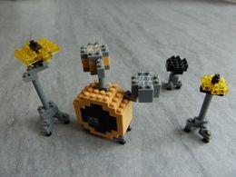 Nanoblock Drum Set - Jeu De Construction Style Mini Lego : Batterie, Instrument De Musique - Miniature - Other Collections
