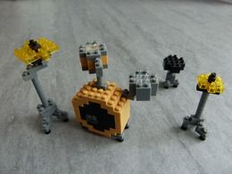 Nanoblock Drum Set - Jeu De Construction Style Mini Lego : Batterie, Instrument De Musique - Miniature - Andere Verzamelingen