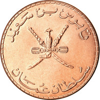 Monnaie, Oman, Qabus Bin Sa'id, 10 Baisa, 2011, British Royal Mint, SPL+, Bronze - Oman