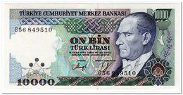 TURKEY,10000 LIRA,1982,P.199,UNC - Turkey