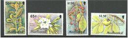 Montserrat 1982  Flowers, Mi 480-483 MNH(**) - Montserrat
